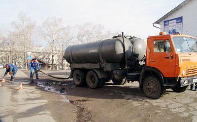 аварийная прочистка канализации в Красногорске
