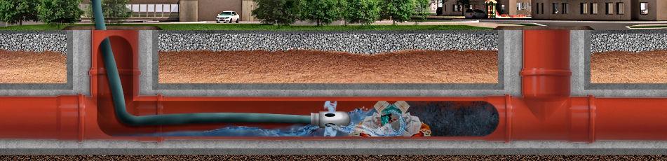 аварийная прочистка канализации в Люберцах